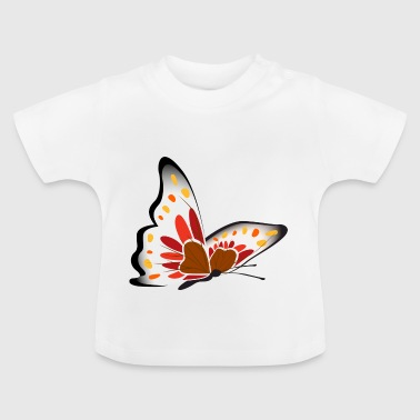 Butterfly illustration - Baby T-Shirt