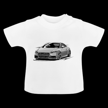 TT RS tuning coupe - Baby T-Shirt