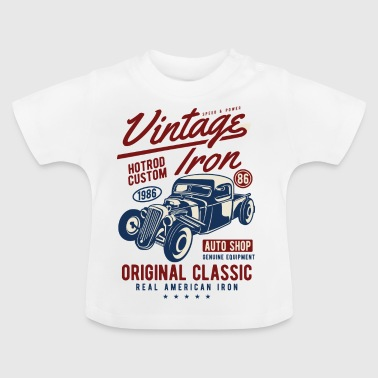Vintage Iron2 - Baby T-Shirt