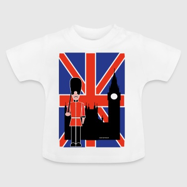 GUARD FLYING JACK AND BIG BEN - Baby T-Shirt