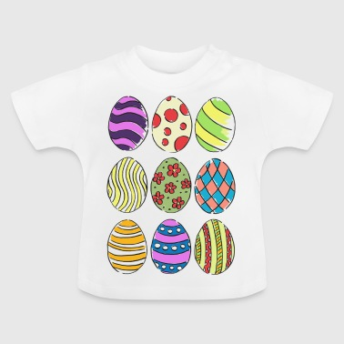 Easter eggs - Baby T-Shirt