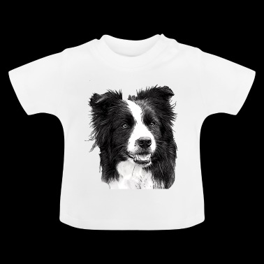 Border collie - Camiseta bebé