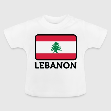 Nationale Vlag van Libanon - Baby T-shirt