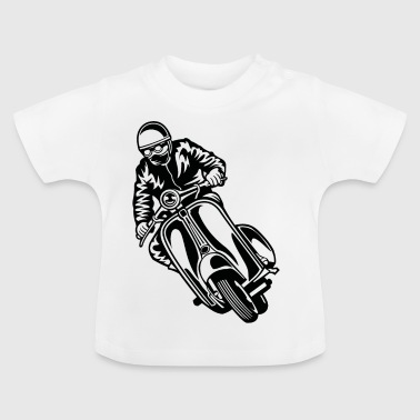 Scooter 04_black - Baby T-Shirt