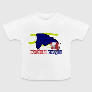 Dominican Republic Music - Baby T-Shirt