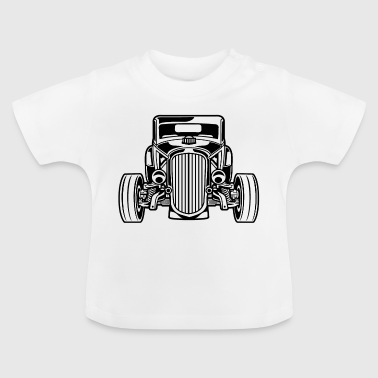 Hot Rod / Rat Rod 07_black - Baby T-Shirt