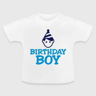 Birthday Boy - Baby-T-skjorte