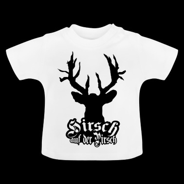 Deer stalking cult motief - Baby T-shirt