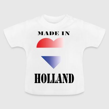 Made in Holland - Baby-T-skjorte