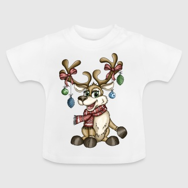 Rentier Rudi Version 2 - Baby T-Shirt