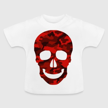 RED SKULL CAMO TEES - Baby T-shirt