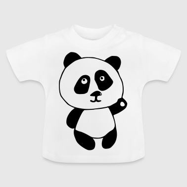 Panda BLACK and WHITE - Baby T-Shirt