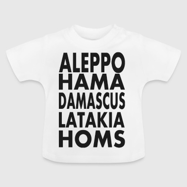 Syrian cities - Baby T-Shirt