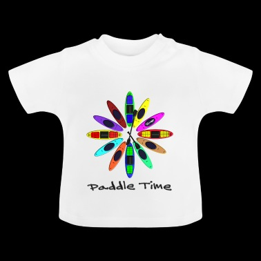 Clock Kayak 0005 - Baby T-shirt