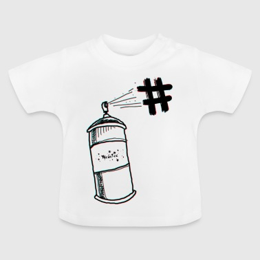 spray - Baby-T-shirt