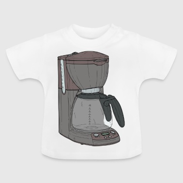machine à café - T-shirt Bébé