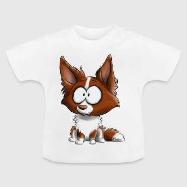 Ich bin Border-Collie - Red - Baby T-Shirt