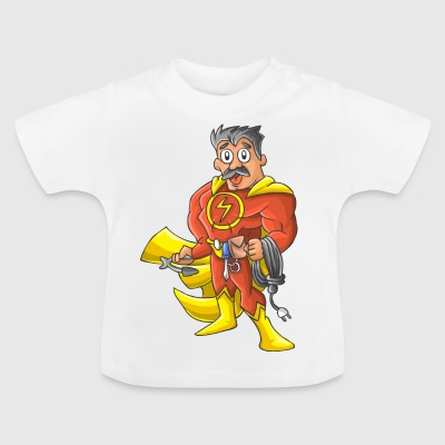 Elektriker Held - Baby T-Shirt