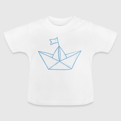 Boot van het document # 1 - Baby T-shirt