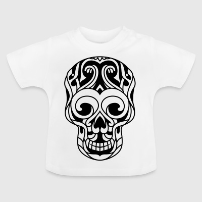 Decorated death kick tribal - Baby T-Shirt