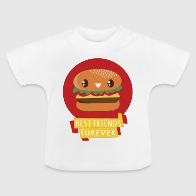Burger - best friends forever - Baby-T-shirt