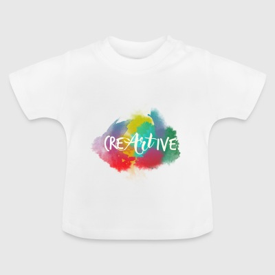 Creartive Aquarel - Baby T-shirt