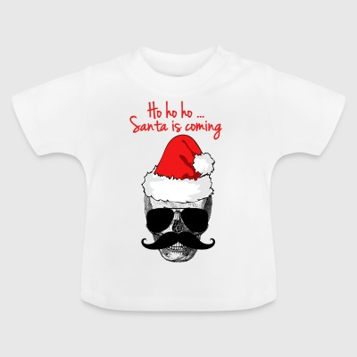 SANTA IS COMING UGLY XMAS SWEATER GESCHENK COOL - Baby T-Shirt