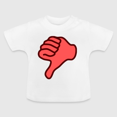 thumbs down - Baby T-Shirt