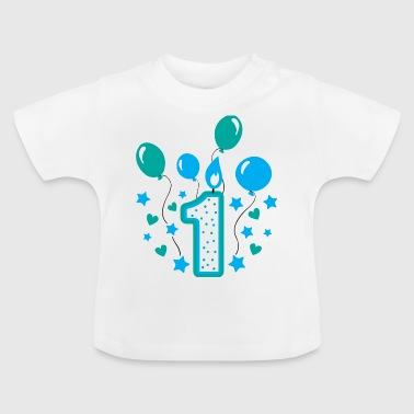 first birthday 1st birthday one year gift - Baby T-Shirt