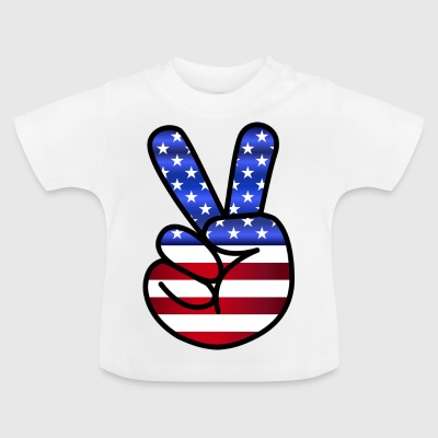 USA Peace - Baby T-Shirt