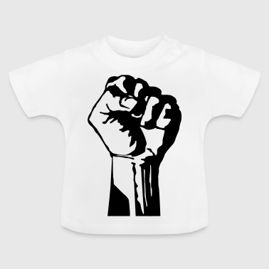 poing - T-shirt Bébé