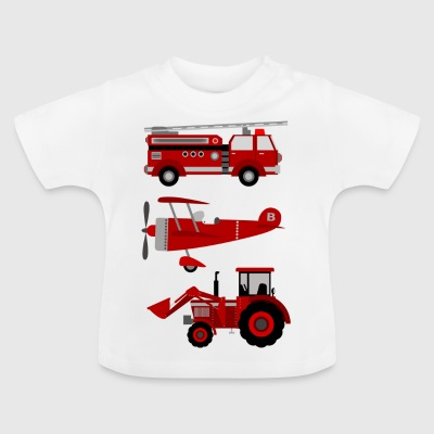 vehicles - Baby T-Shirt