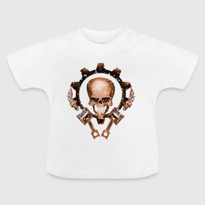 Schedel zuiger Tuning - Baby T-shirt