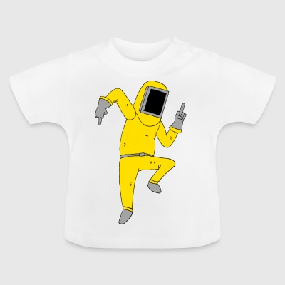Sweary Hazmat Man - Baby-T-shirt