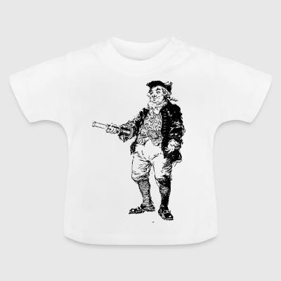 pirate ship boat pirate pirate ship ship skull1 - Baby T-Shirt
