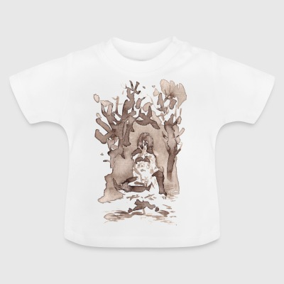 forest woman - Baby T-Shirt