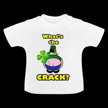 Shamrock Crack - Baby T-shirt
