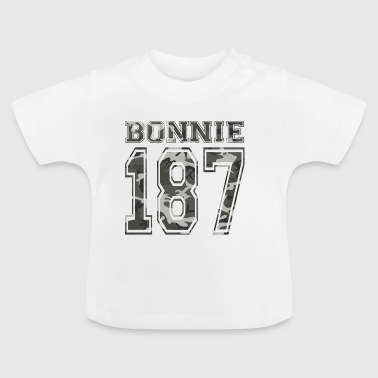 Bonnie 187 crime strasse clyde rot queen - Baby T-Shirt