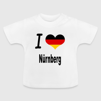 I Love Germany Home Nuernberg - Baby T-Shirt