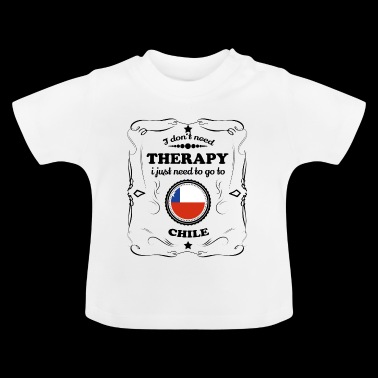 DON T therapie nodig GO CHILI - Baby T-shirt