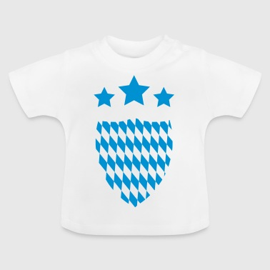 Oktoberfest emblem coat of arms Munich 2c - Baby T-Shirt