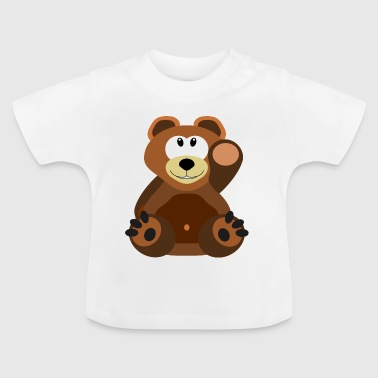 Teddy bear in brown - Baby T-Shirt