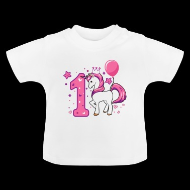 First birthday, gift first birthday - Baby T-Shirt