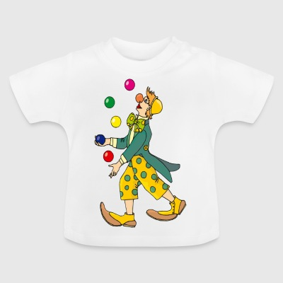 Jebe Jongleur Clown - Baby T-Shirt