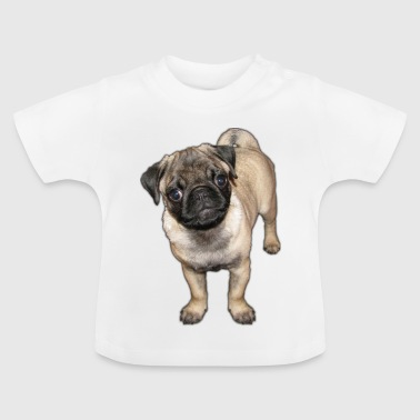 Mops Welpe - Baby T-Shirt