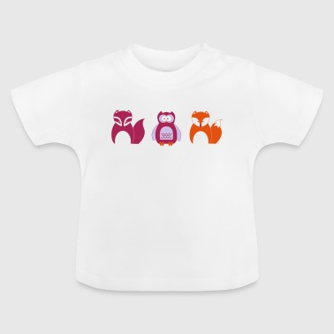 Design for Toddlers | Wildlife in Portrait - Baby T-Shirt