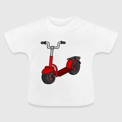 Kick scooter - Baby T-Shirt