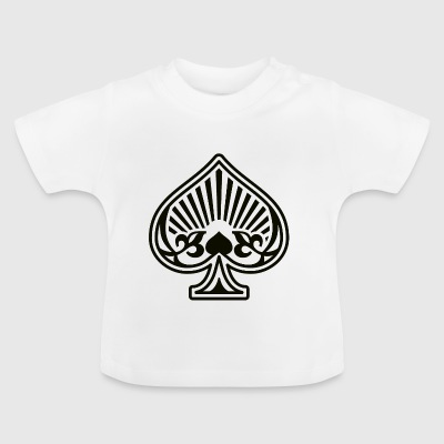 Asse Spades Poker Card - Baby T-Shirt