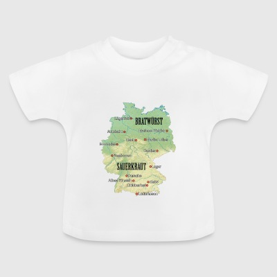 Germany Atlas - Baby-T-shirt