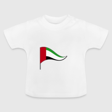 Arabische Emirate Abu Dhabi ARE Flagge Fahne - Baby T-Shirt
